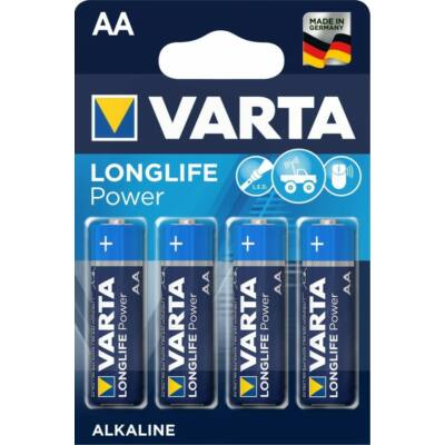 VARTA LONGLIFE POWER LR6 AA CERUZA ELEM