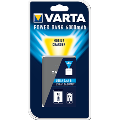 Varta Powerbank 6.000 mAh