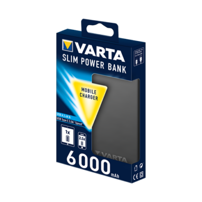 VARTA SLIM POWER BANK 6000