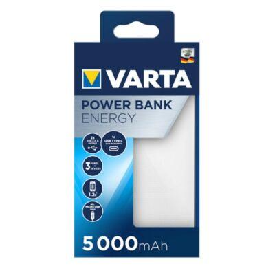 VARTA Portable Power Bank Energy 5000mAh töltő