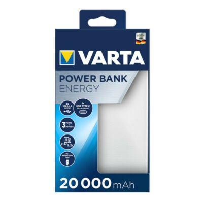 VARTA Portable Power Bank Energy 20000mAh töltő