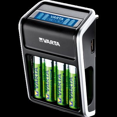 Varta LCD Plug töltő + AA 2100 mAh x 4 (R2U)