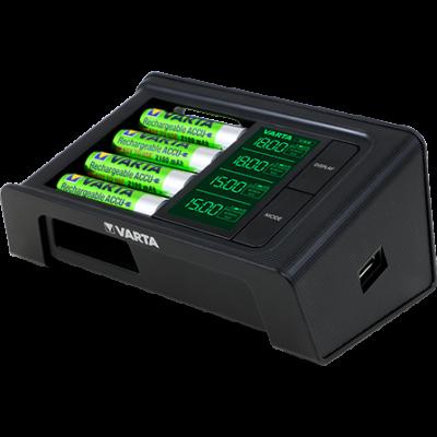 VARTA LCD SMART CHARGER  AKÁR 4 DB AA/AAA ELEMHEZ